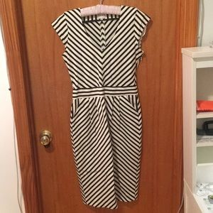 Striped Reiss Dress sz2